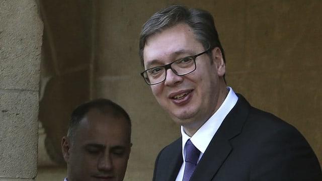 Serbiens Präsident Aleksandar Vucic