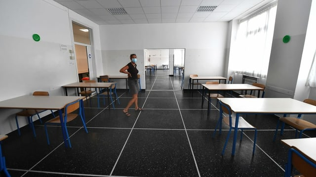 Klassenzimmer in Italien