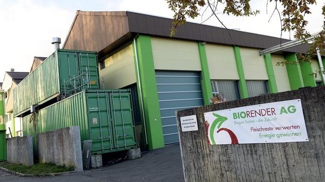 Die Firma Biorender AG in Münchwilen.