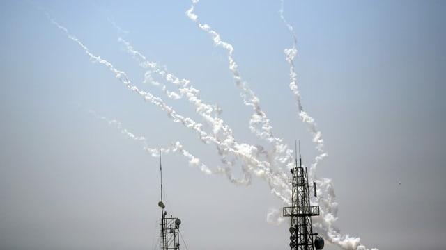Erster Angriff auf Tel Aviv bei Tageslicht