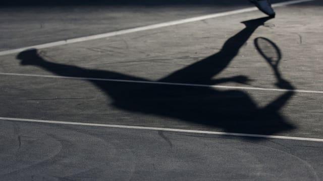 Der Dopingmissbrauch wirft bisher keinen grossen Schatten über den Tennissport.