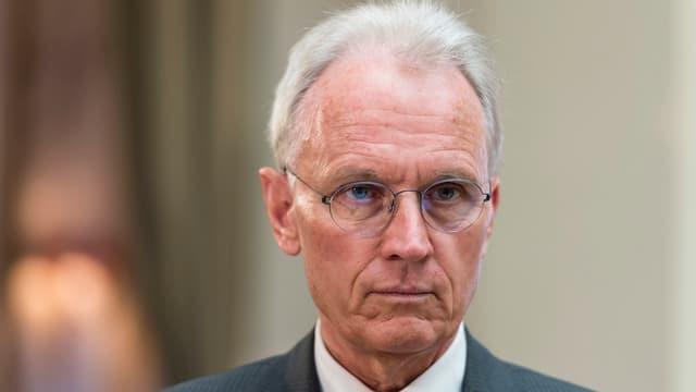 Il directur da l'Uniun svizra d'artisanadi e mastergn Hans-Ulrich Bigler.