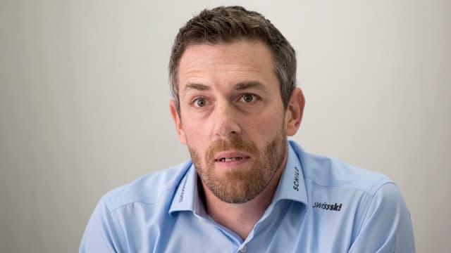 Porträt von Markus Wolf, technischer Direktor Swiss Ski.