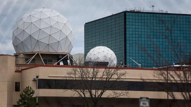 Das Hauptquartier des Geheimdienstes NSA