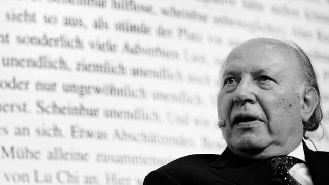 Il 2007 aveva Imre Kertész visità la «BuchBasel».