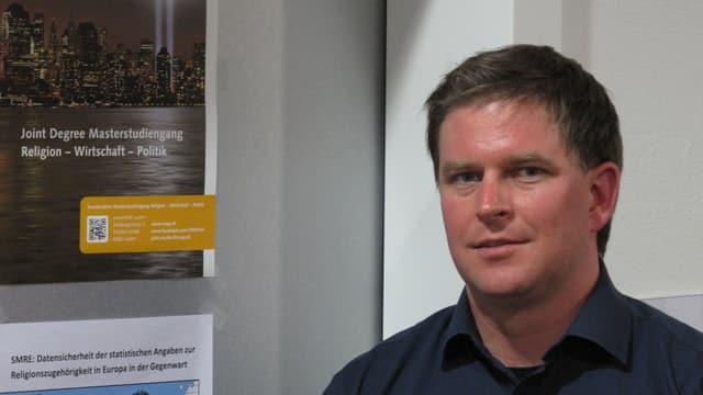 Religionswissenschaftler Anastas Odermatt von der Uni Luzern.