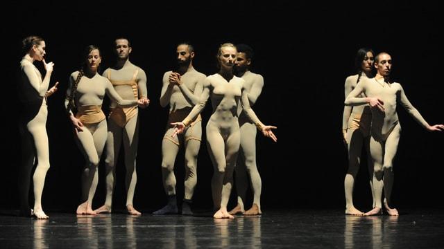 Bild der israelischen Tanzcompagnie LEV.