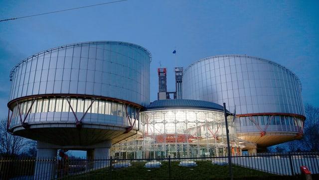 Bild des Europäischen Gerichtshofes in Strasbourg.