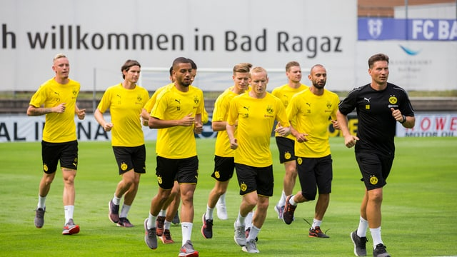 Borussia Dortmund absolvescha gia dapli blers onns in camp da trenament a Bogn Ragaz.