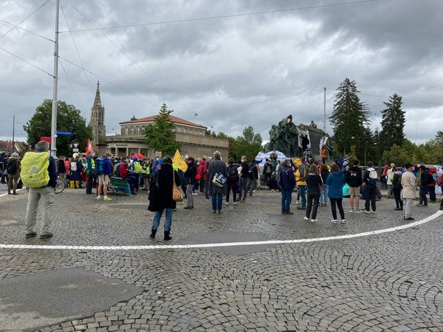 Demo in Bern