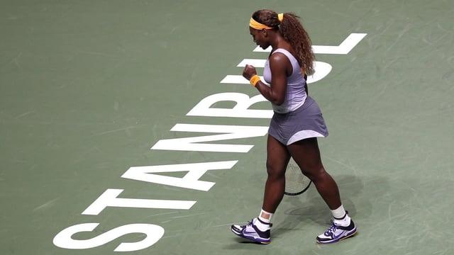 Serena Williams lässt Angelique Kerber keine Chance.