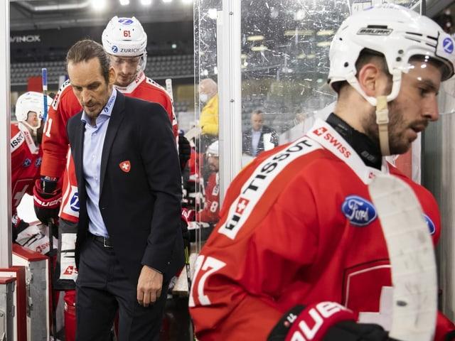 Die Schweizer Hockey-Nati verlässt das Eis