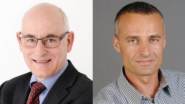 Portraitfotos der beiden Chat-Experten