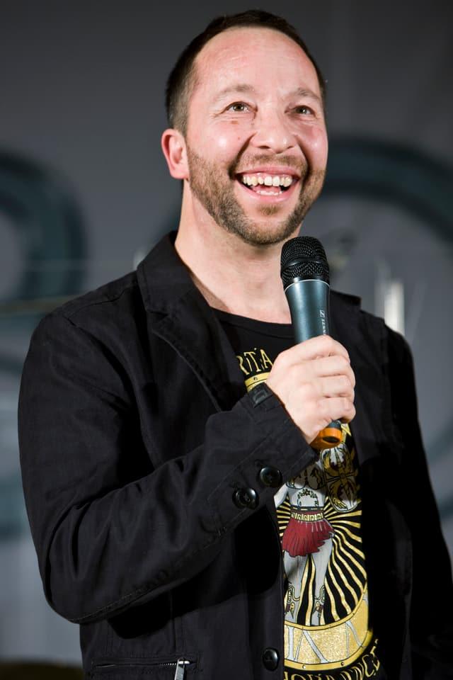 DJ Bobo hatte viel zu lachen - und das Publikum lachte mit.