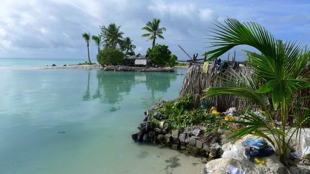 Strand in Kiribati