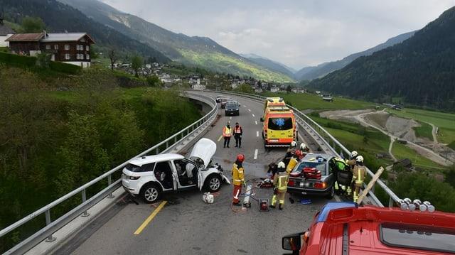 Fotografia da l'accident.