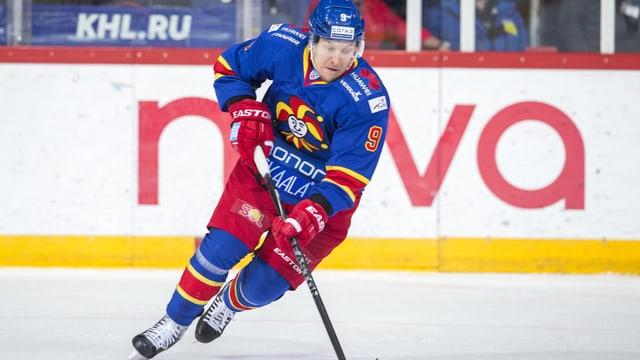 Niklas Hagman verabschiedet sich von den Eishockey-Feldern.