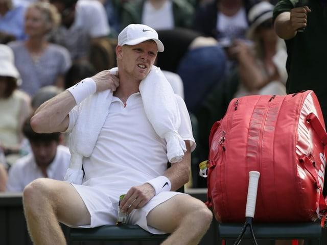 Tennisspieler Kyle Edmund