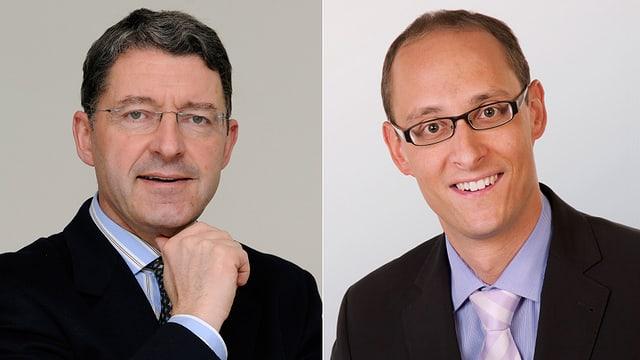 Heinz Brand e Martin Candinas.