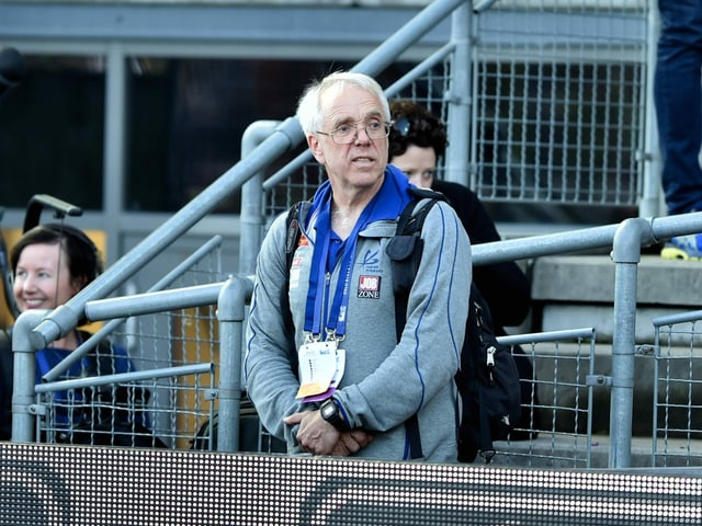 Warholms Trainer Leif Olav Alnes.