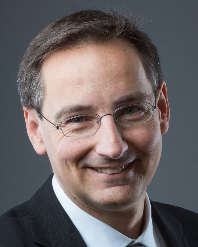 Porträt Thomas Egger.
