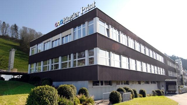 Braunes Industriegebäude