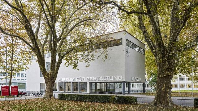 Ein Museumsgebäude von aussen fotografiert