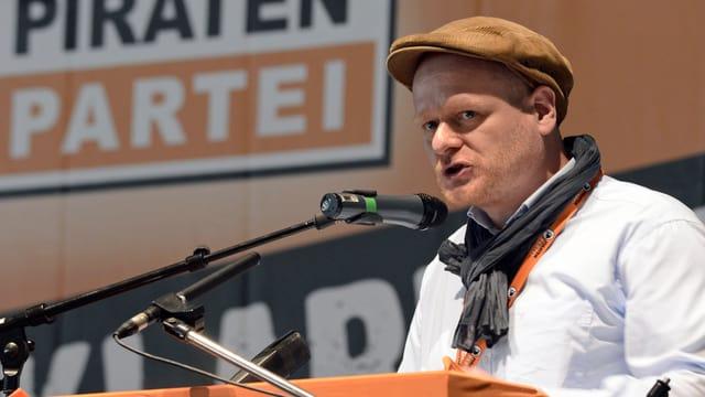 Parteivorsitzender der Piratenpartei Bernd Schlömer.