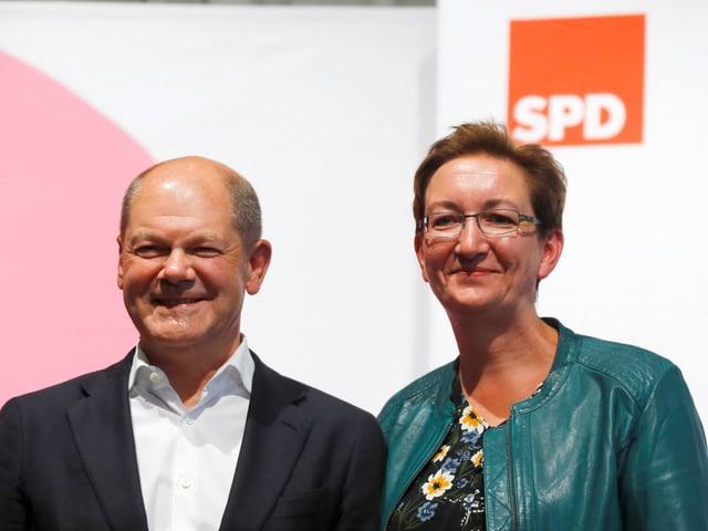 Scholz und Geywitz