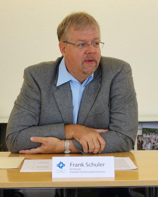 Portrait von Frank Schuler