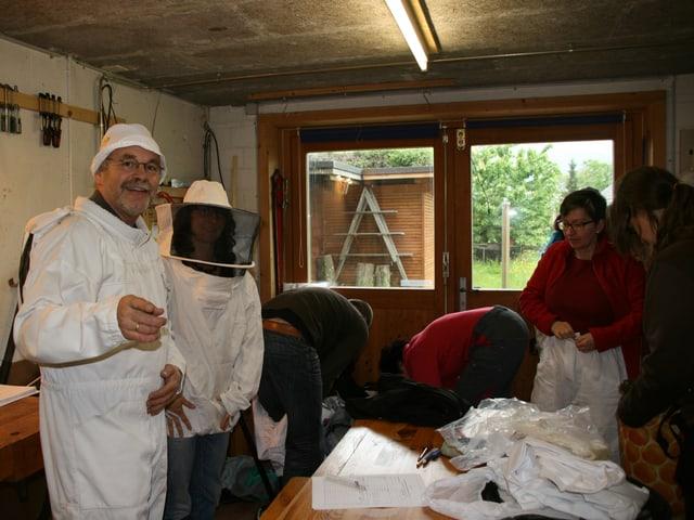 Bereit für's Bienenhaus.