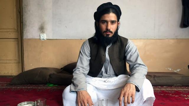 Bild von Faraidun, einem ehemaligen Taliban, der später für den IS kämpfte.