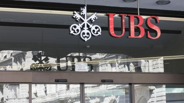 Logo da la UBS.