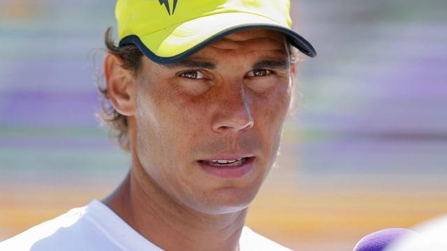Rafael Nadal soll in Miami einsatzbereit sein.