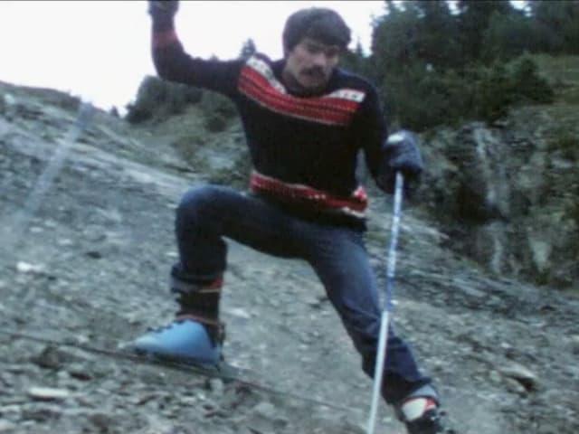 El na dovra betg la naiv per ir cun il skis.
