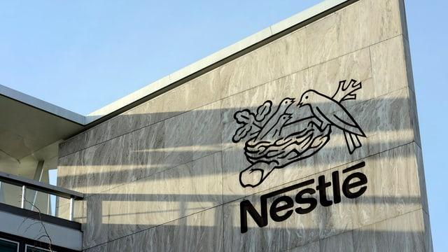Nestlé Gebäude von aussen