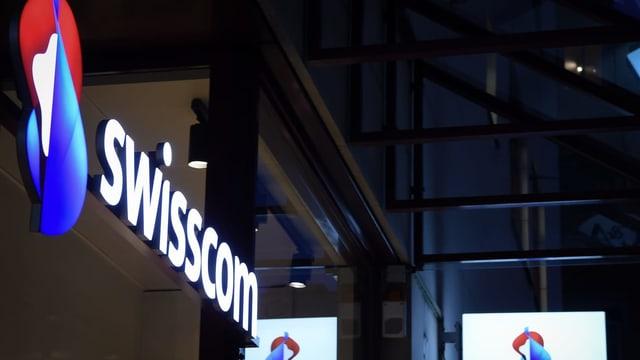 Purtret dal logo da la Swisscom.