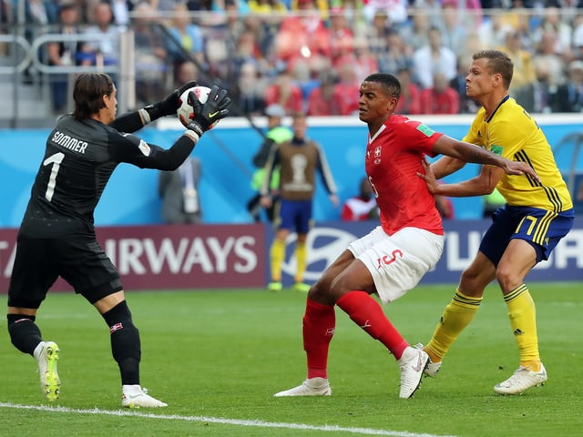 Wie schon gegen Costa Rica wehrte Yann Sommer viele Angriffe ab