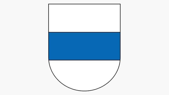 Das Zuger Kantonswappen.