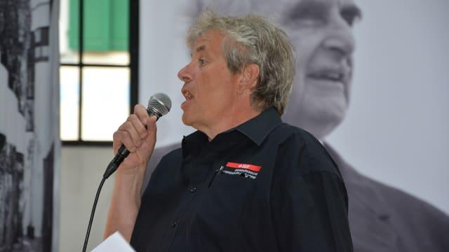 Der Präsident des eidgenössischen Differenzler-Jassverbandes Andreas Balsiger.