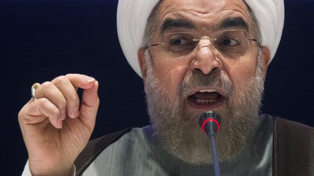Il president da l'Iran Hassan Rohani.