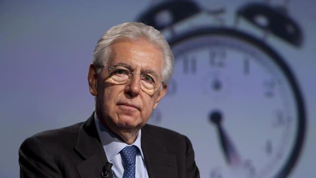 Porträt Mario Monti.