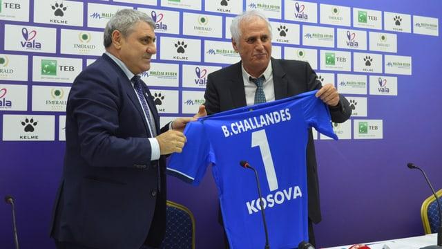 Bernard Challandes ist neu Trainer von Kosovo.