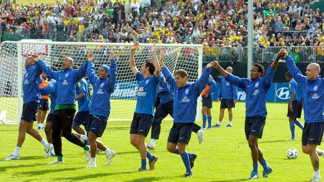 Brasilianische Fussballer.