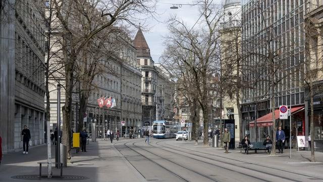 Zürcher Bahnhofstrasse.