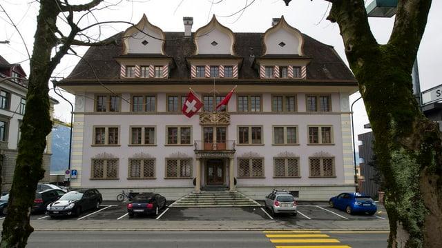 Das Schwyzer Regierungsgebäude