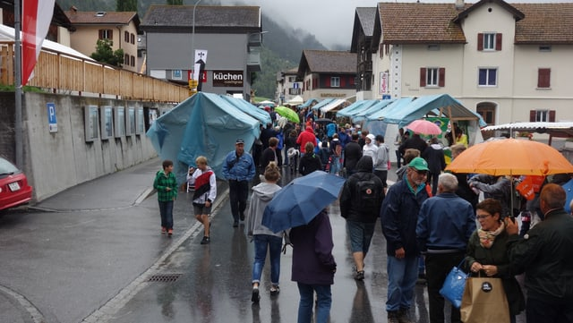 Umbrellas èn il motto da la 31avla Scuntrada.