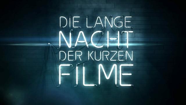 Keyvisual Die lange Nacht der kurzen Filme