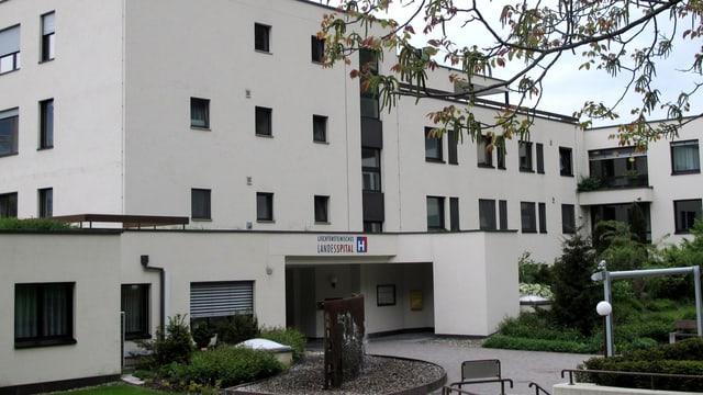 Das Gebäude des Landesspitals in Vaduz.
