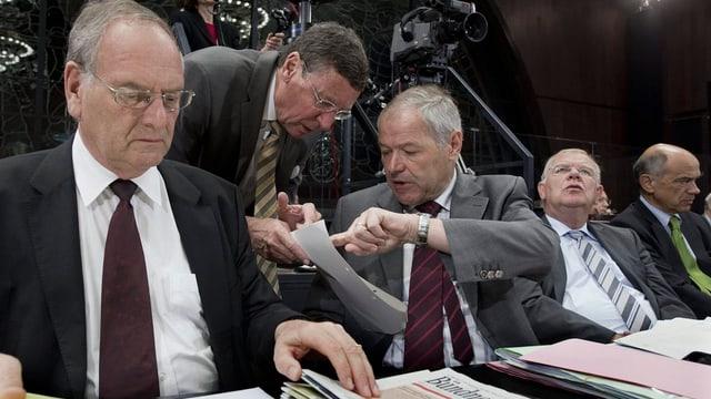 Der Zuger Peter Bieri (Mitte) kandidiert nach 20 Jahren im Ständerat nicht mehr.